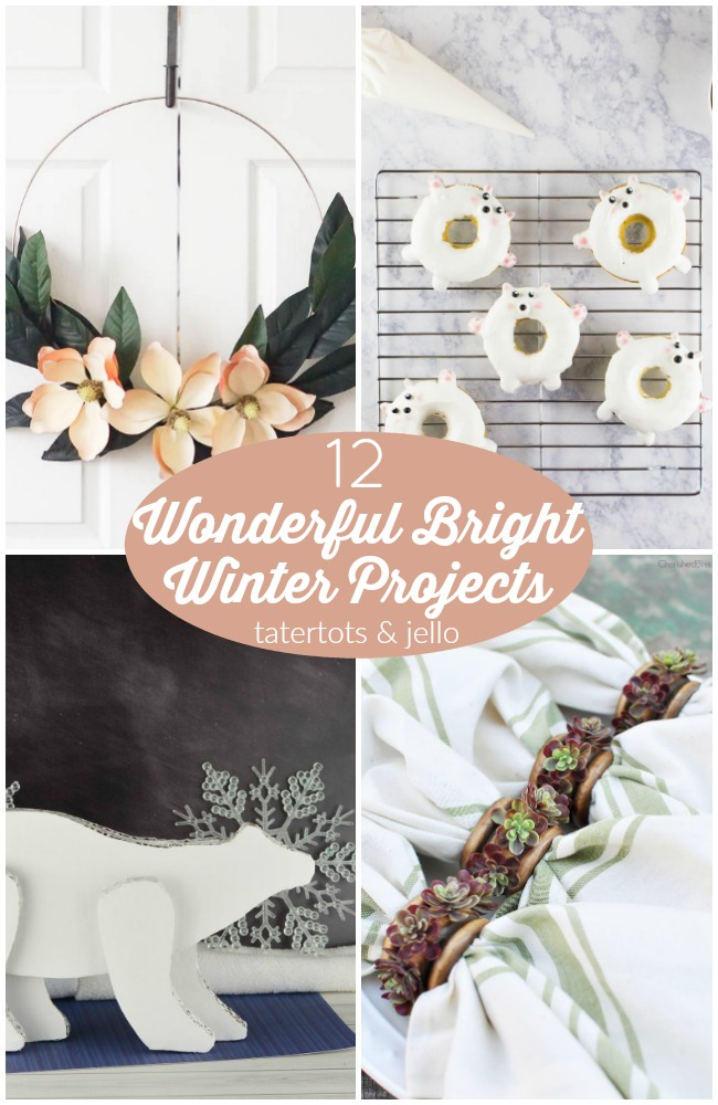 Great Ideas — 12 Wonderful Bright Winter Projects!