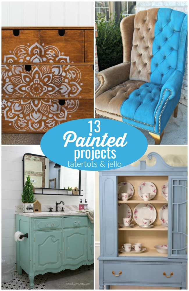 Great Ideas -- 13 Painted Projects!