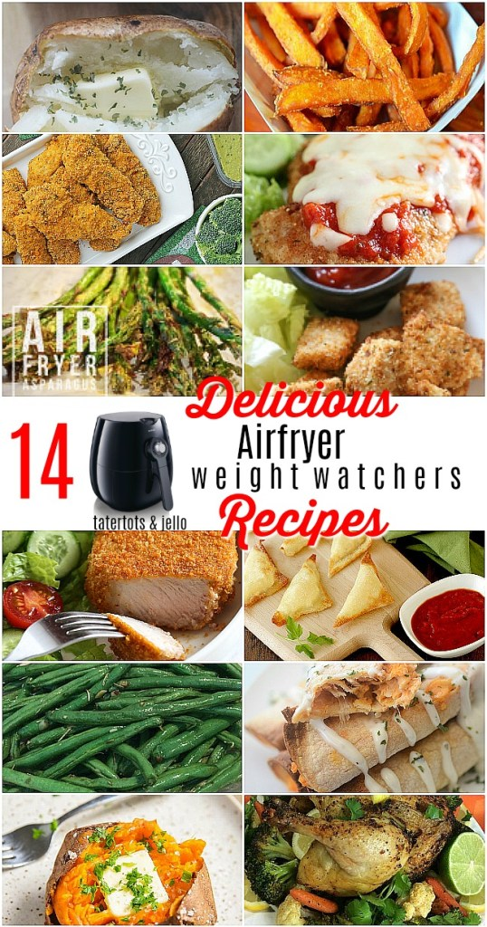 14 DELICIOUS air fryer recipes with weight watchers points
