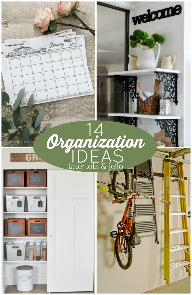 Great Ideas — 14 Organization Ideas!