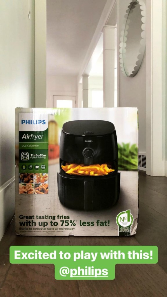 using our air fryer