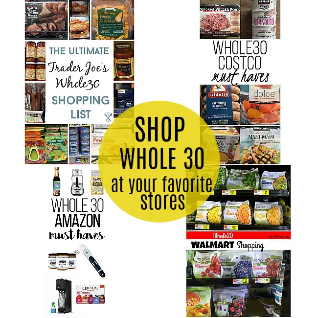 shop whole 30 foods at your regular grocery store