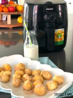 3 Minute Airfry Cinnamon Sugar Donut Holes – easy to make and healthier too!