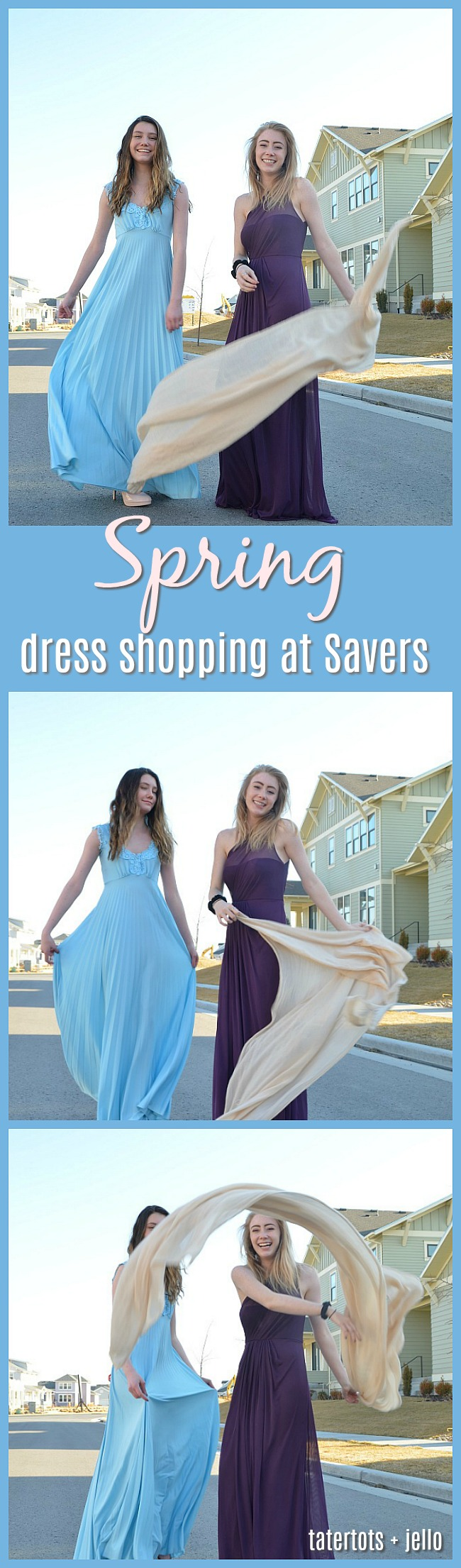 Spring Dress Shopping at Savers - with over 100,000 items you will find an amazing selection at affordable prices!