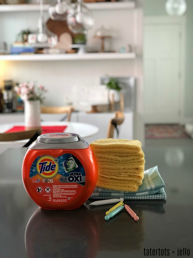 Tide versus cleaning hacks - I tried them both and this is what happened