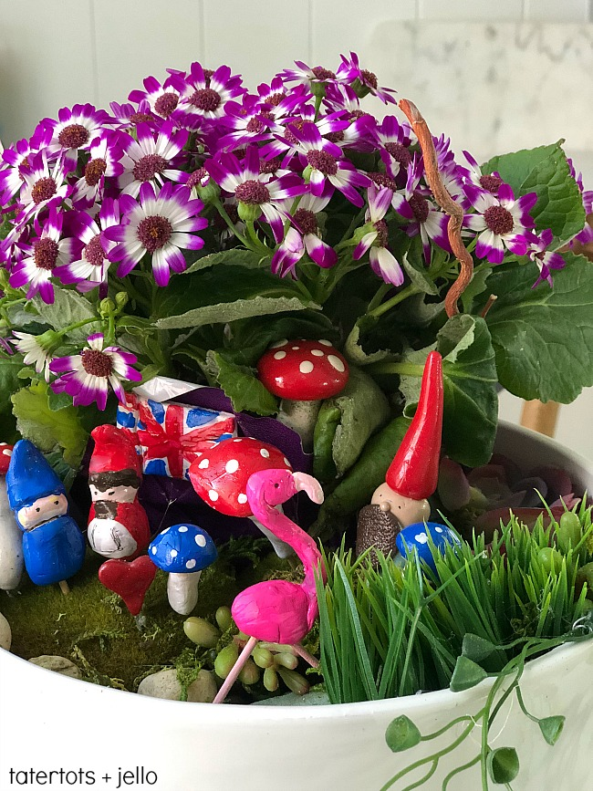 Kids Craft - Make a DIY Fairy Gnome Garden!