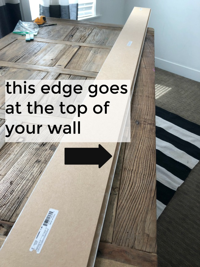 How to Plank Shiplap walls in Under 2 Hours - four easy steps!