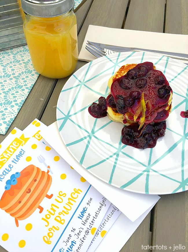 Throw a Kids' Pancake Party + the FLUFFIEST Lemon Ricotta Pancakes