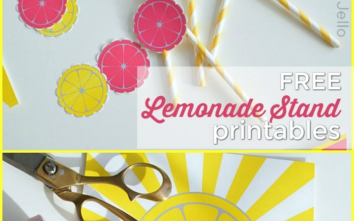Summer Lemonade Stand Free Printables!!