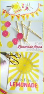 Summer Lemonade Stand Free Printables!!