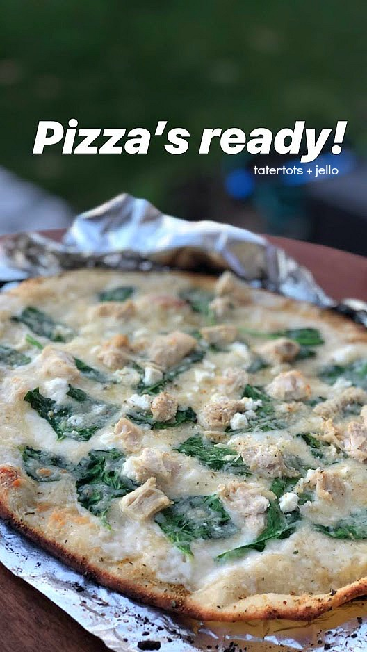 How to grill pizzas outside. Grill pizzas outside this summer with your family! Tips and tricks to creating the perfect personal grilled pizzas.