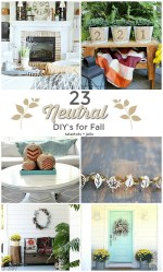 23 Neutral Fall DIY Ideas!