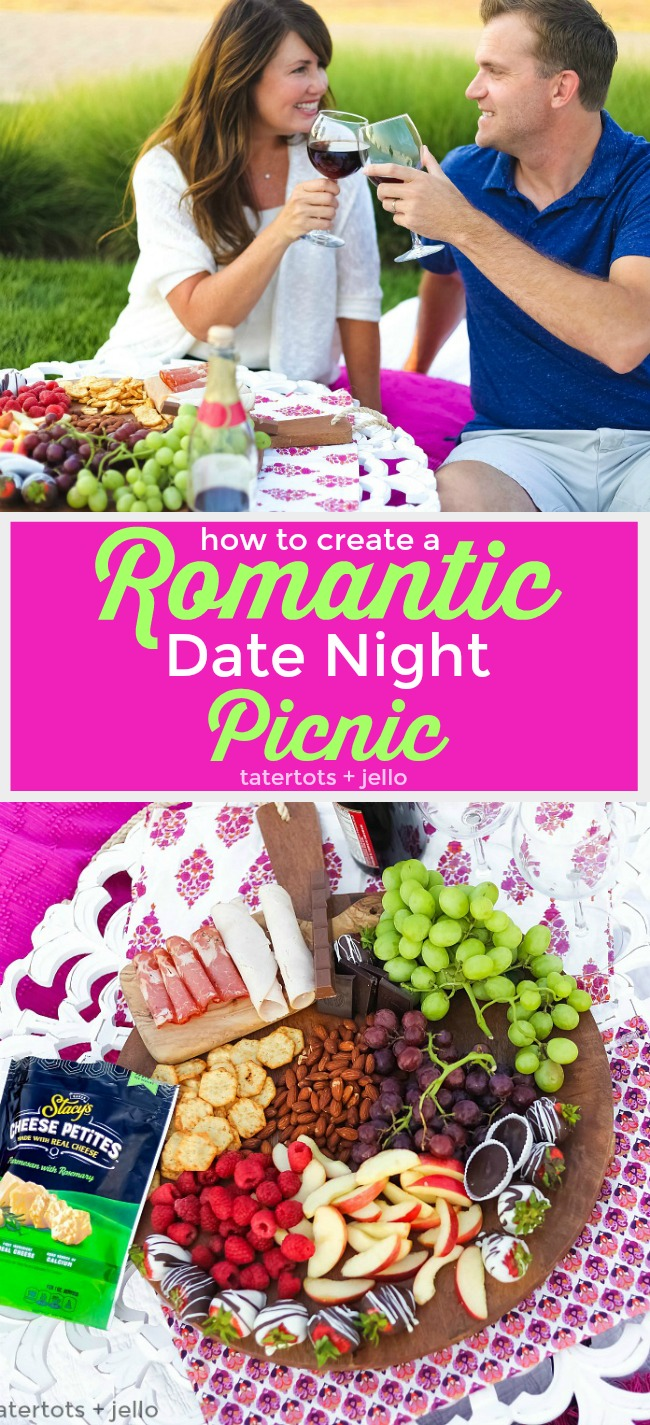 How to create the perfect date night picnic! A date night picnic is fun to plan and enjoy. Create the perfect picnic with these tips and surprise your date with a sweet printable note invitation.