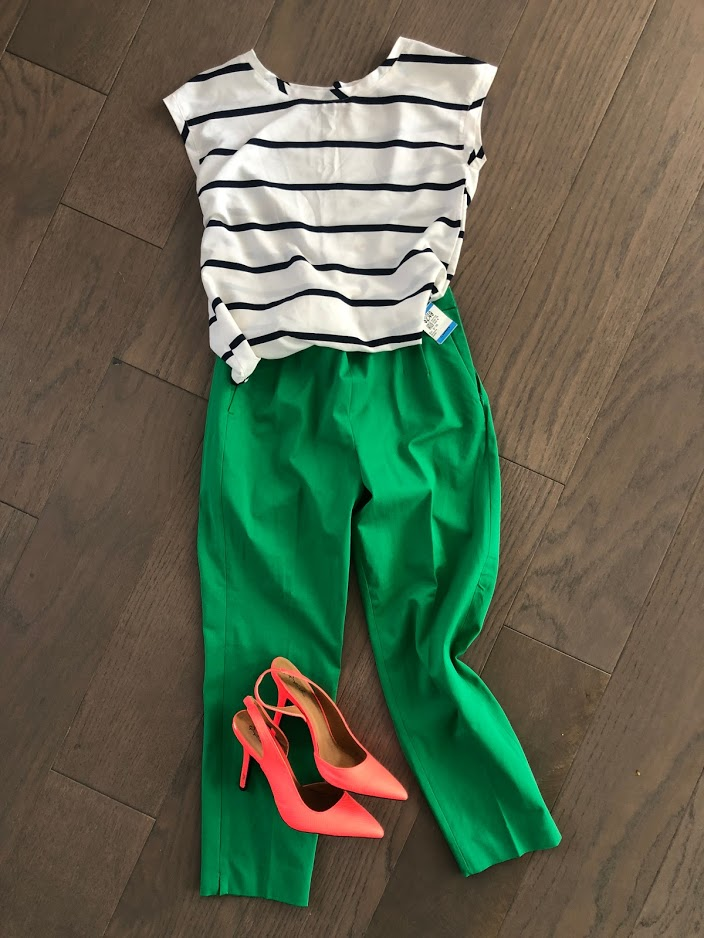 Savers thrifted outfit