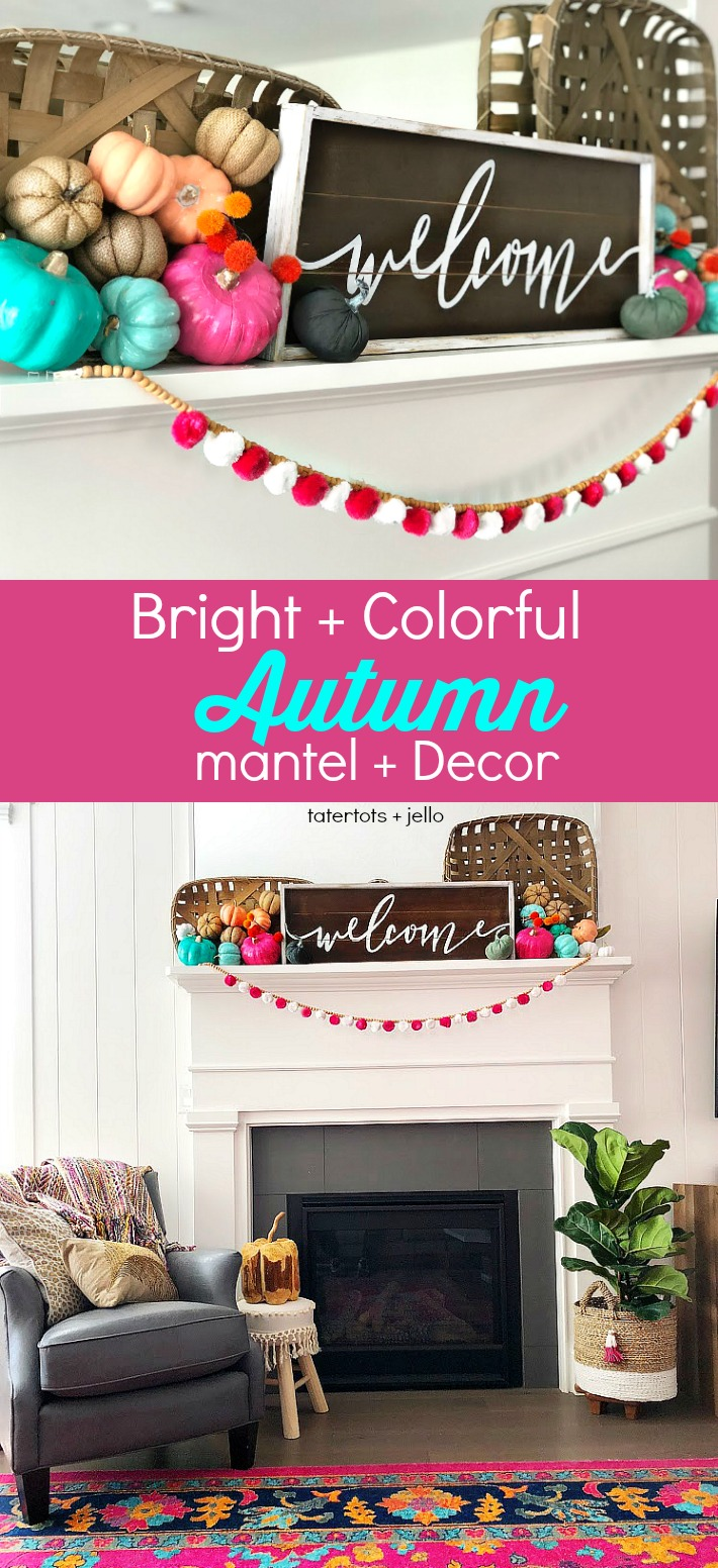 Mantel in pink