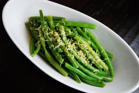 Weight Watchers Lemon Butter Green Beans