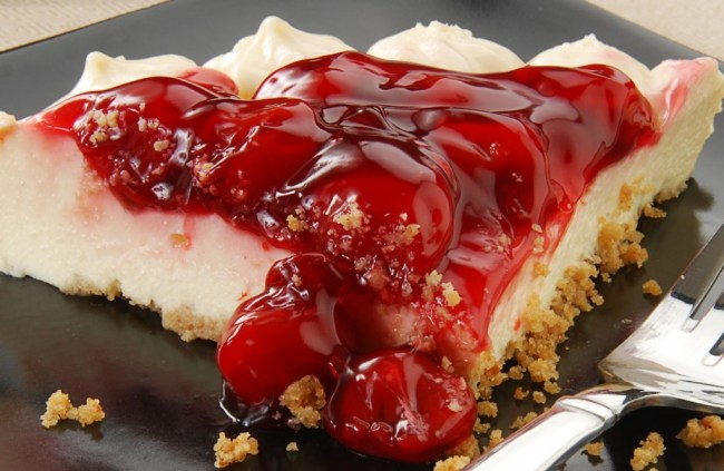 Weight Watchers No Bake Cherry Cheesecake