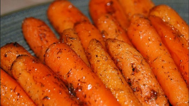 Weight Watchers Glazed Carrots