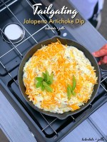 Tailgating Hot Jalapeno Artichoke Dip Recipe!