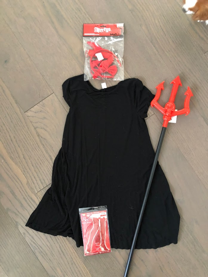 FIVE 5-Minute Simple Halloween Costumes with 1 Little Black Dress! Take a thrifted dress and add simple accessories from Savers Thrift to create easy Halloween costumes this year!