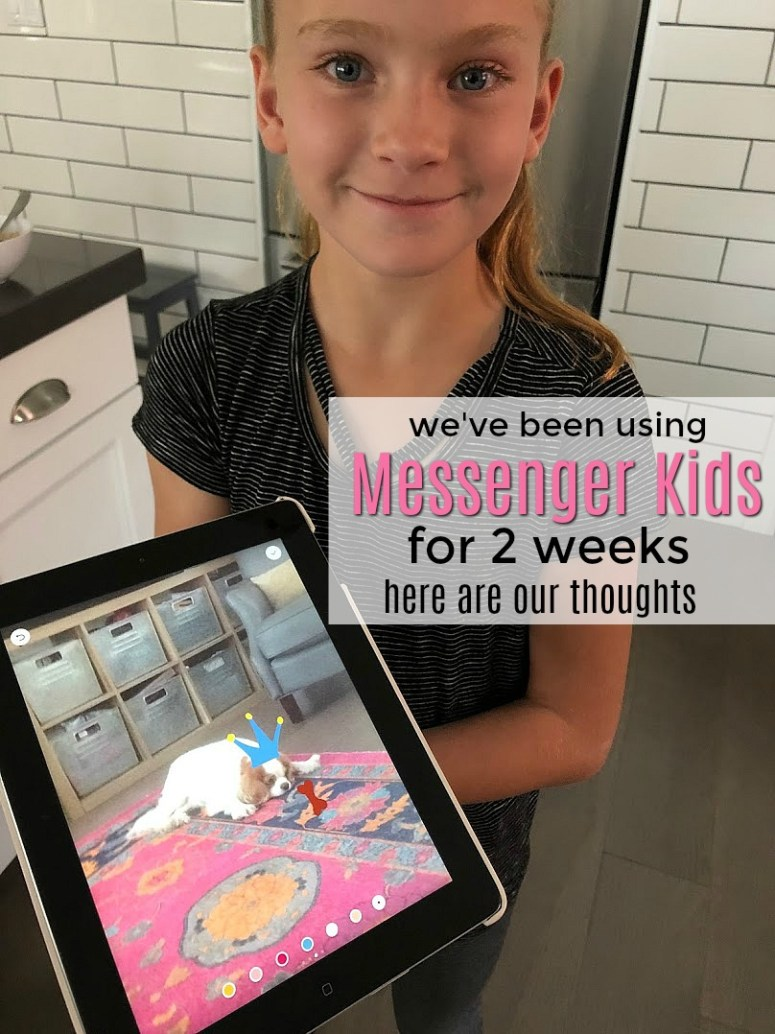 We've been using Messenger Kids for two weeks - these are our thoughts. Messenger Kids is a free calling and messaging app designed for kids. Kids only connect with parent-approved contacts which creates a safe environment and fun extras like interactive masks, sound effects and stickers make if fun for kids to call or send messages to loved ones.