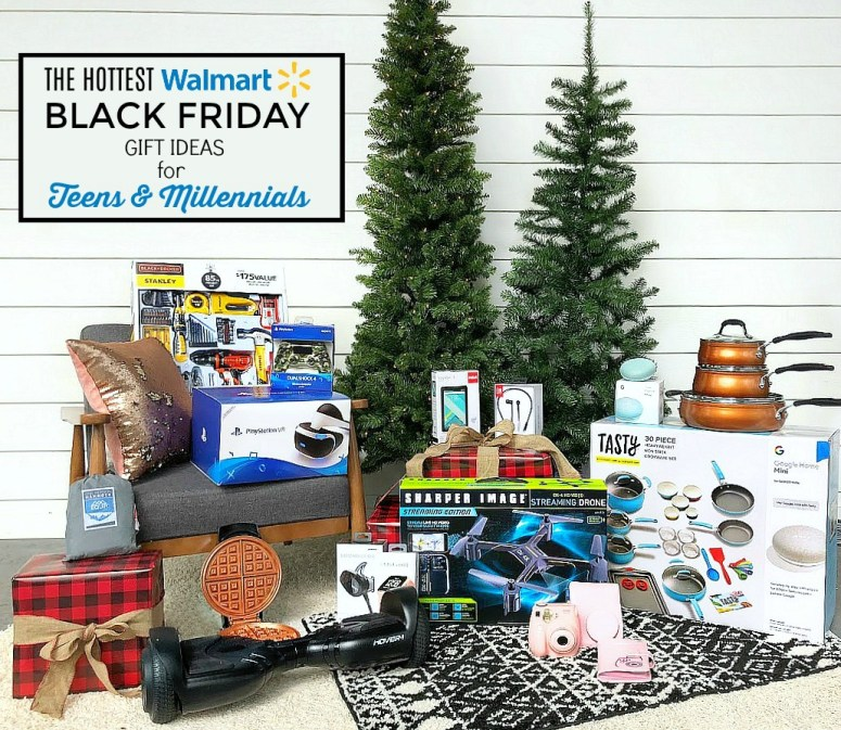 The HOTTEST Walmart Black Friday Deals - Gift Guide for Teens and Millennials! This gift guide is full of fun games, helpful electronics, and cookware teens and millennials can use as they move away to college or get their first apartment, plus equipment that will help them explore the world.