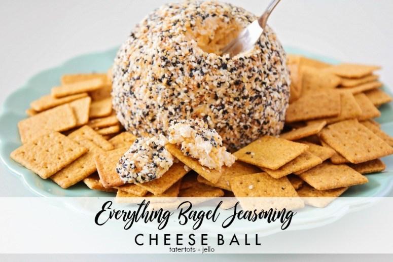 Everything Bagel Seasoning Cheeseball
