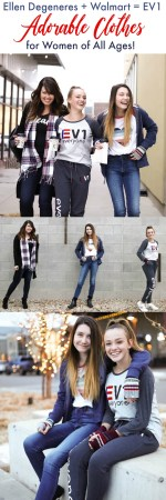 Ellen Degeneres + Walmart = EV1 Adorable Clothes for Women of All Ages!