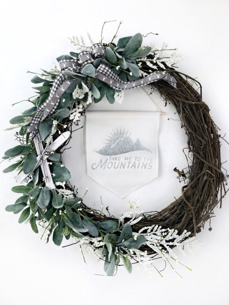 Winter Skit wreath