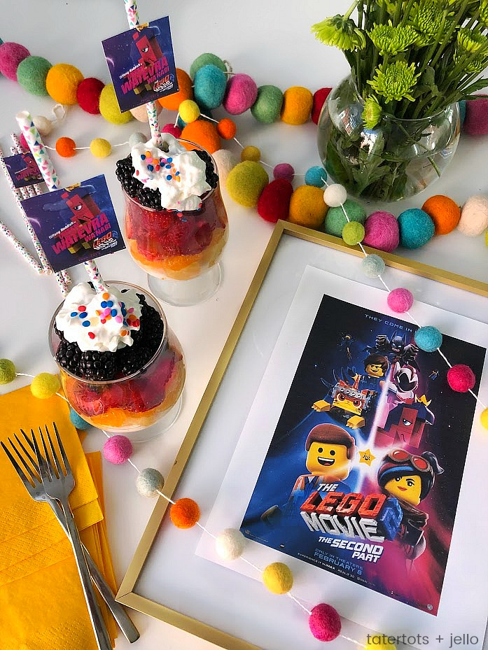 Kids love rainbow yogurt fruit parfaits! So easy to make -- layers of yogurt and fruit are the perfect way to start off or end the day!