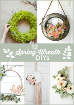 12 magnifiques bricolages de guirlande de printemps!