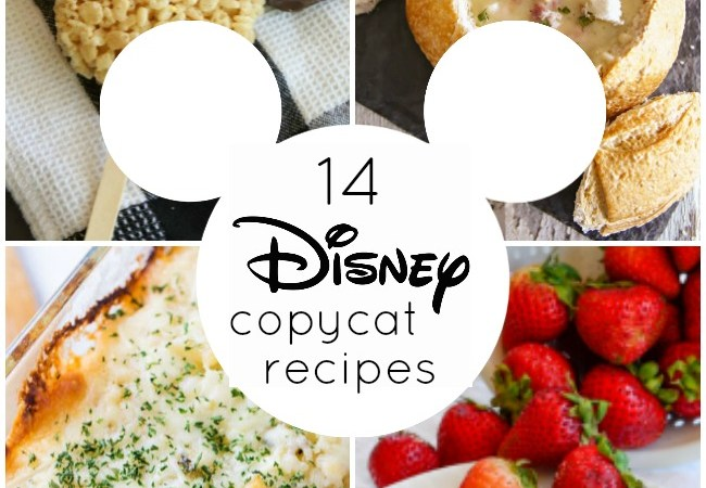 14 AMAZING Disney Copycat Recipes!