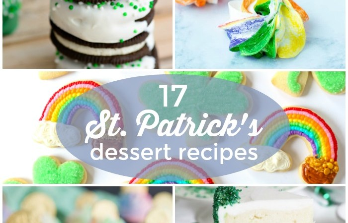 17 St. Patrick's Day Dessert Recipes!
