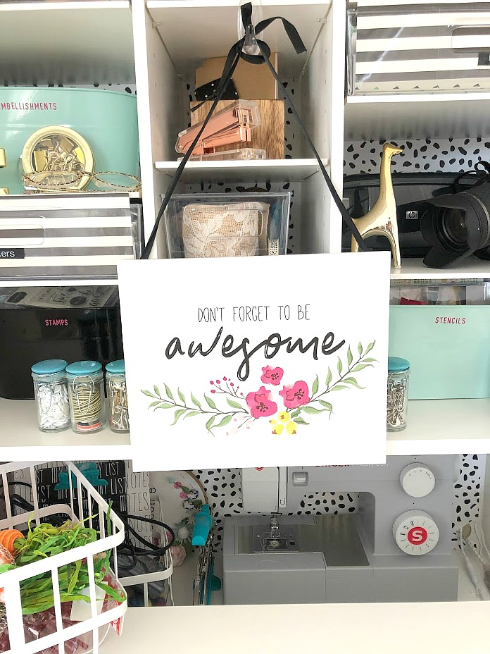 How I store and organize ALL of my craft supplies! I've been blogging at tatertotsandjello.com for 11 years and sharing a new creative tutorial each day.