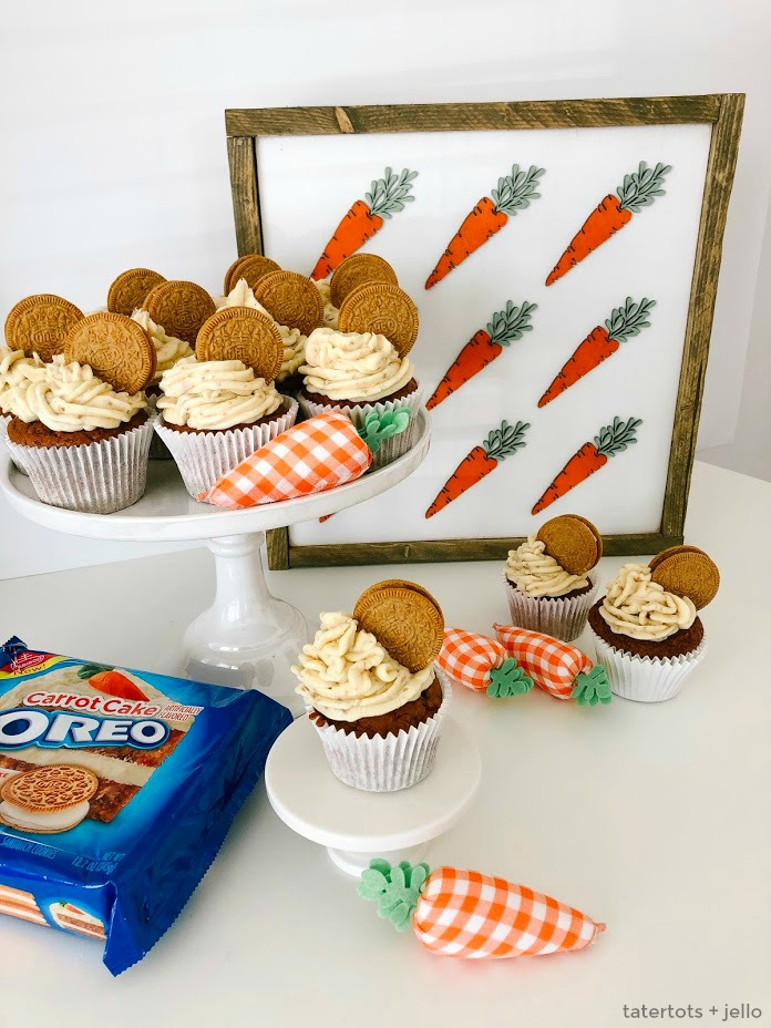 Carrot Cake Oreo Buttercream Cookie Frosting Recipe