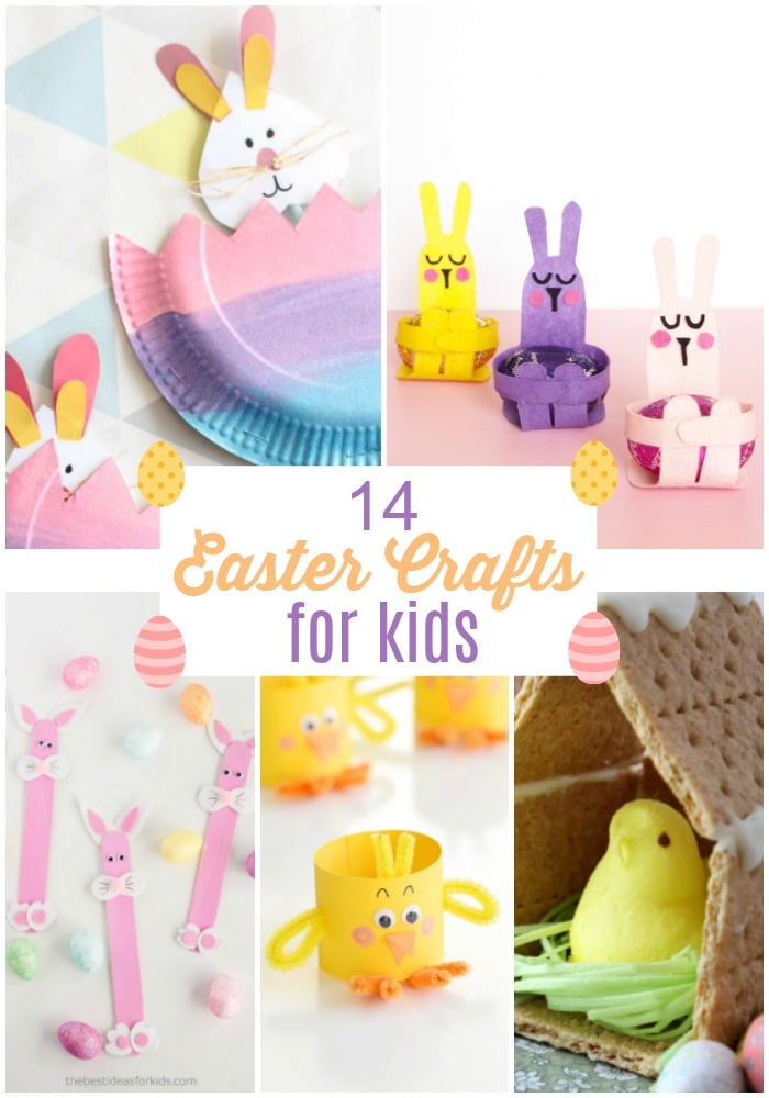 14 Easter Crafts For Kids Colorful Easy And Fun Ways To Celebrate