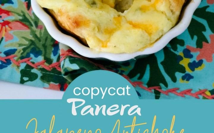 Panera-Inspired Jalapeno Artichoke Egg Souffles!