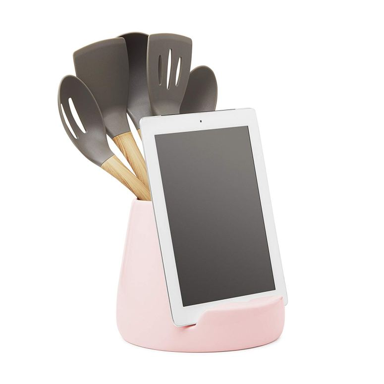 kitchen tablet dock is a great gift for Mother's Day!
