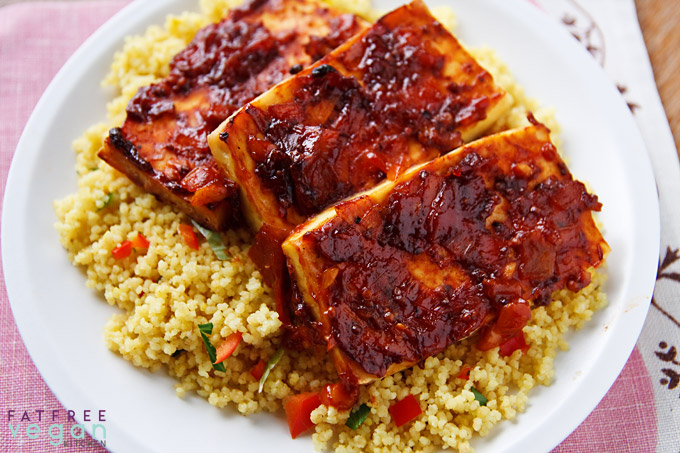 0 Weight Wathchers Points Chipotle Barbecue Tofu @ Far Free Vegan