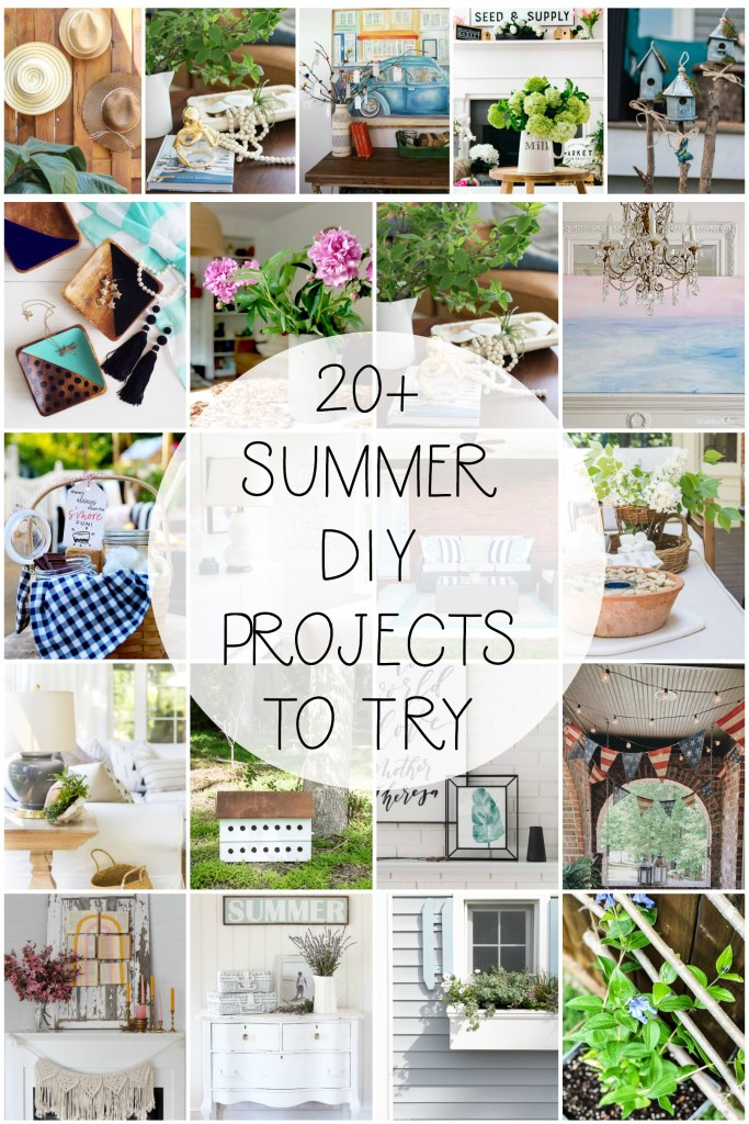 20 Summer DIY Projects to make!