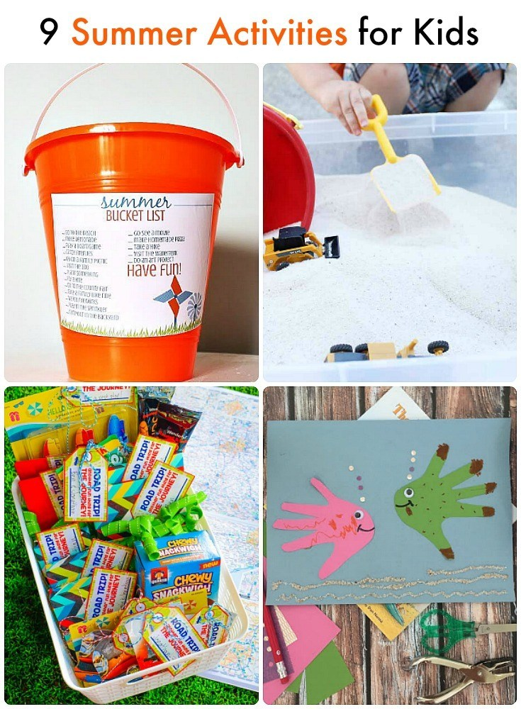 9 easy and fun outdoor ideas for kids!