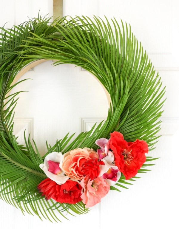 Tropical Floral Wreath