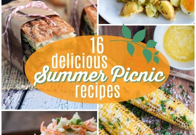 16 Delicious Summer Picnic Recipes!