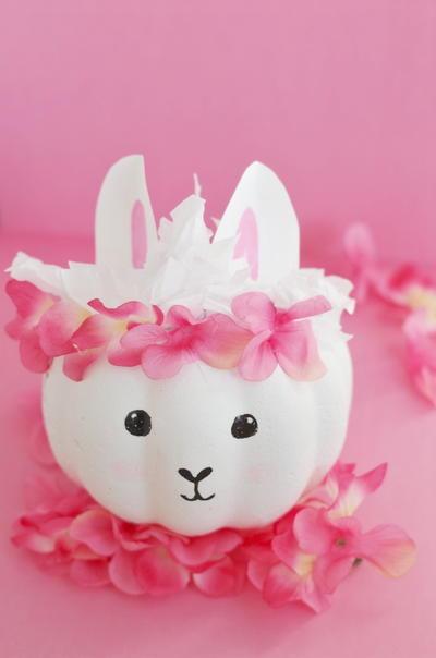Llama Pumpkin @ Fave Crafts