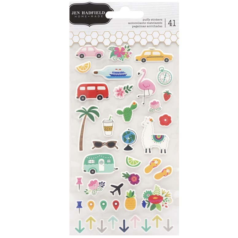 Chasing Adventures Planner stickers are smaller and perfect for embellishing your planner.