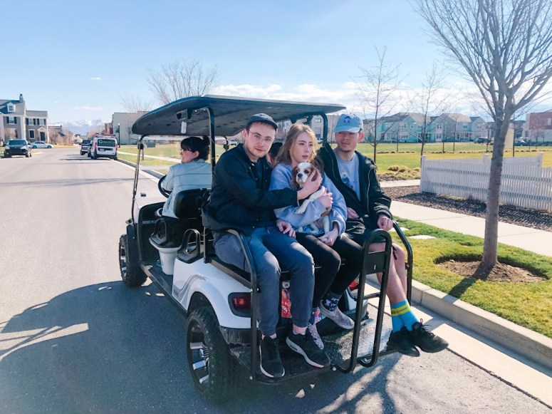We Were Able to Use an E-Z-GO Golf Cart in our Master-Planned Community for a Year and this is what happened.
