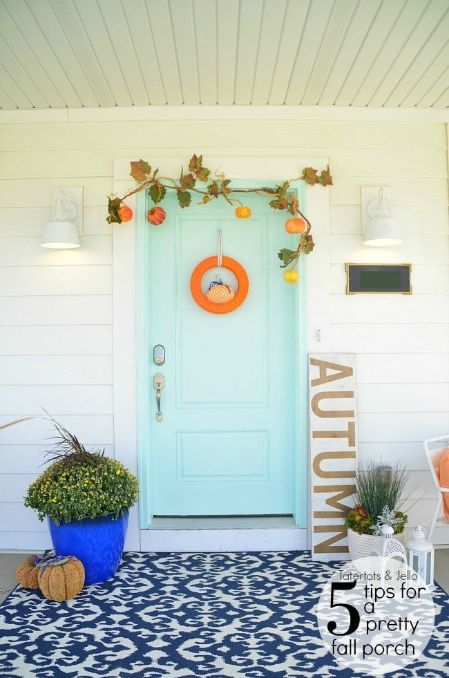 Five Ways to Create a Pretty Fall Porch