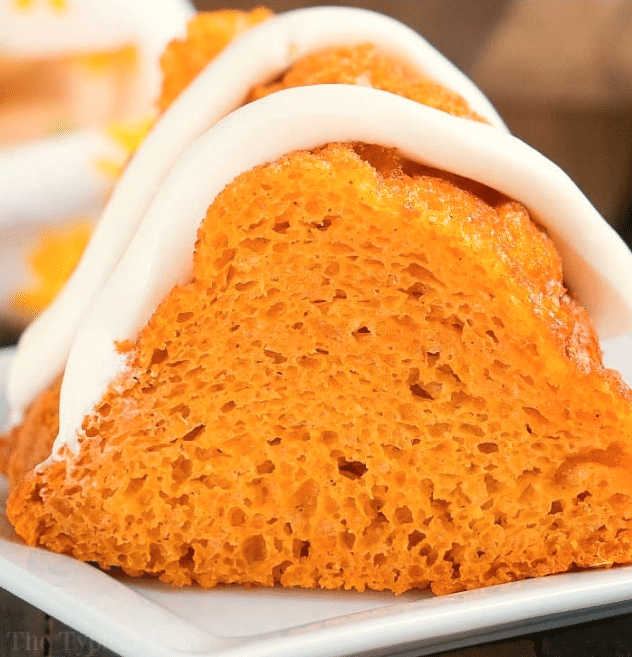 Pumpkin Angel Food Cake - 4 Weight Watchers Points @ The Typical Mom