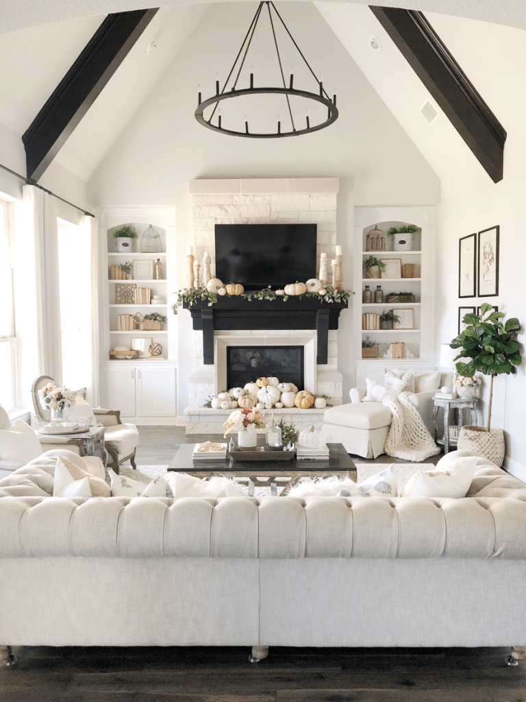 Rustic Chic Fall Home Tour @ My Texas House