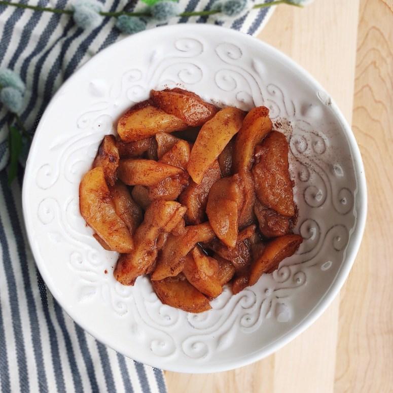 Weight Watchers Cinnamon Apples - 0 Smart Points @ Lose It Lyss